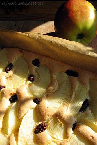 biszkopt z jablkami b